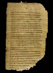 Image of ancient text